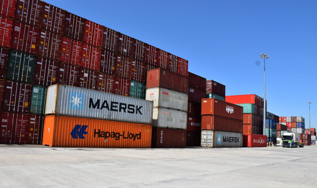 Staging your container freight